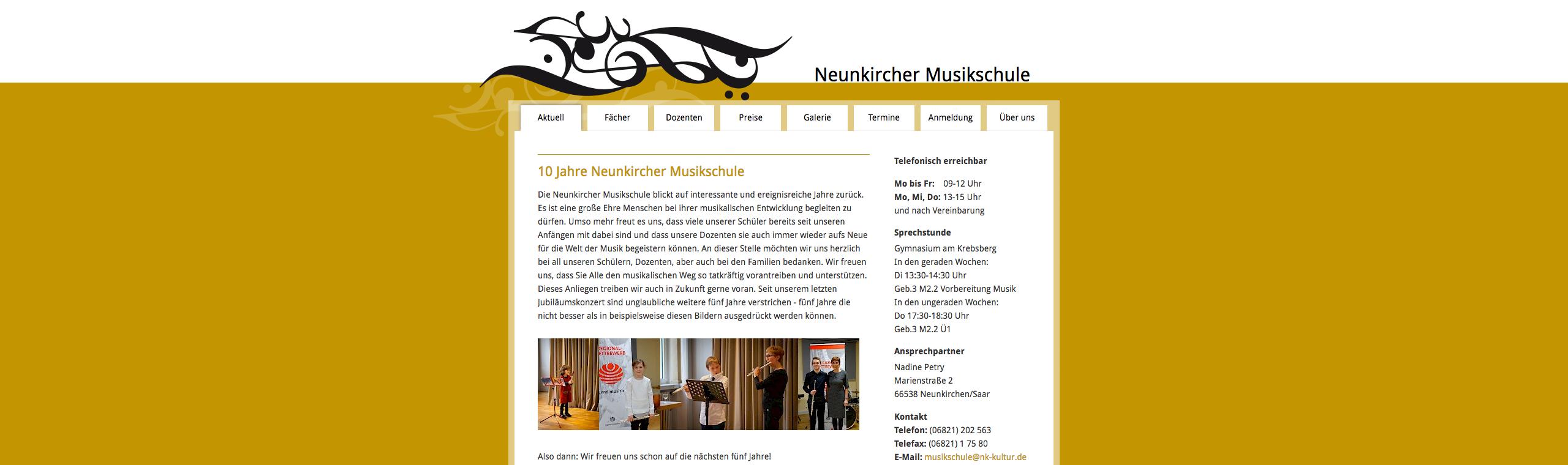 Neunkircher Musikschule